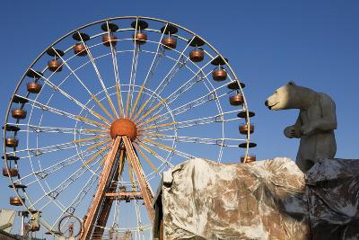 Big Wheel, Cogolin, Var, France--Photographic Print