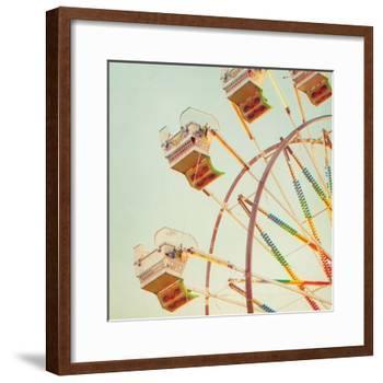 Big Wheel Detail-Mandy Lynne-Framed Art Print