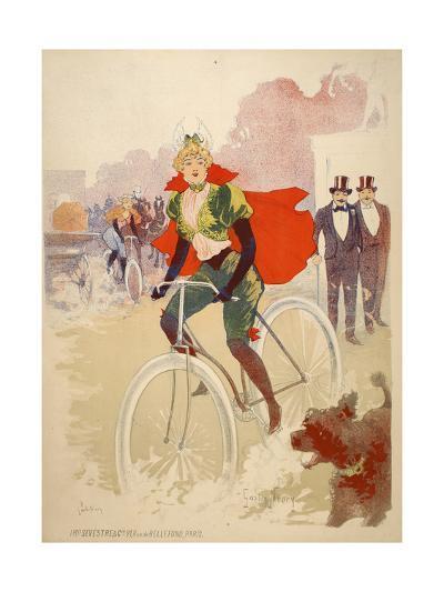 Bike Ride-Marcus Jules-Giclee Print