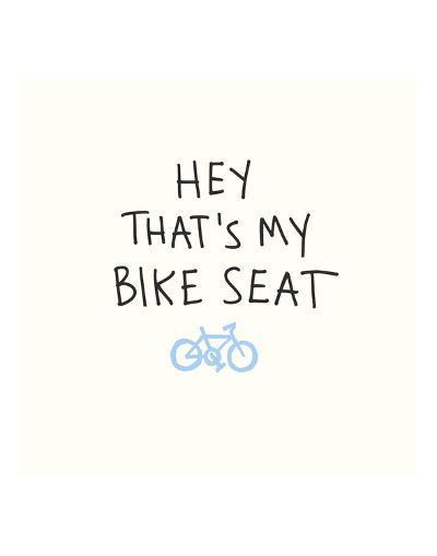 Bike Seat-Urban Cricket-Art Print