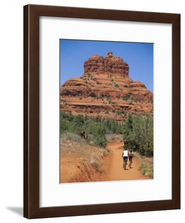 Bikers Ride near Bell Rock-Richard Nowitz-Framed Photographic Print