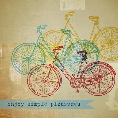 Bikes 1-Stella Bradley-Premium Giclee Print