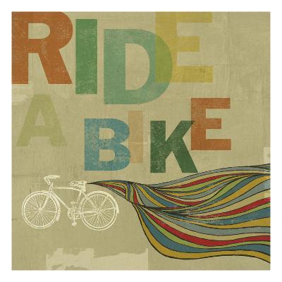 Bikes 2-Stella Bradley-Premium Giclee Print
