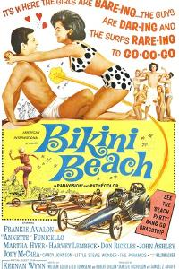 Bikini Beach, Frankie Avalon, Annette Funicello, 1964