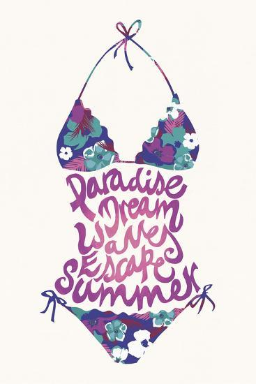 Bikini Floral-Joni Whyte-Giclee Print