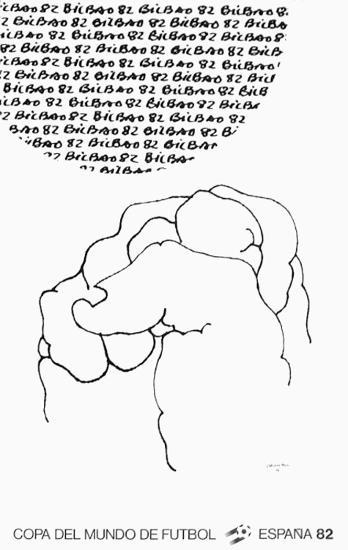 Bilbao Affiche-Eduardo Chillida-Collectable Print