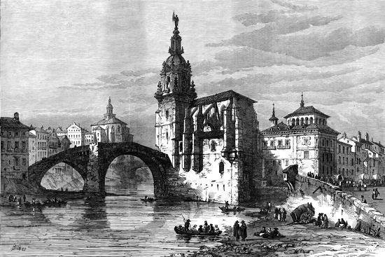 Bilbao, Spain, April 1874-Unknown-Giclee Print