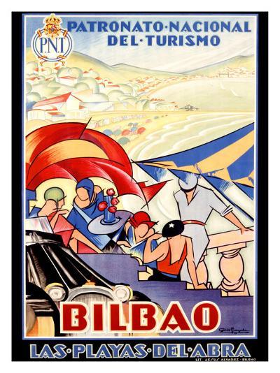 Bilbao-Colde Guezala-Giclee Print