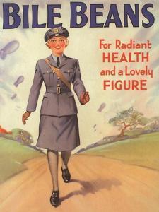 Bile Beans, Uniforms WWII Medical Medicine, UK, 1940