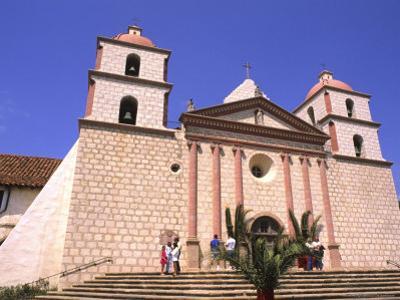 1786 Santa Barbara Mission, California, USA