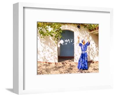 African Dancer in Old Colonial Village, Trinidad, Cuba