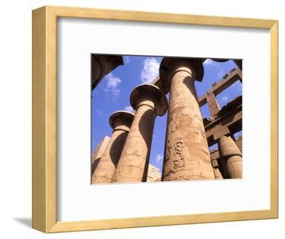 Ancient Ruins of Kings at the Temple of Karnak, Luxor, Egypt