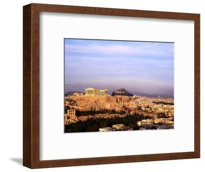 Athens, Greece, View of the City with Acropolis