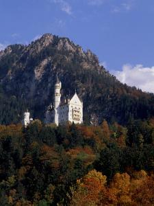 Bavarian Alps and Neuschwanstein Castle, Germany by Bill Bachmann