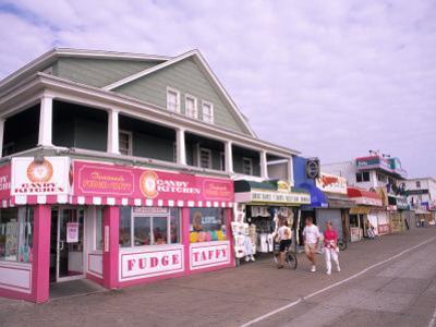 Boardwalk on the Beach, Ocean City, Maryland, USA
