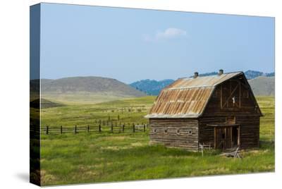 Butte, Montana Old Worn Barn in Farm County