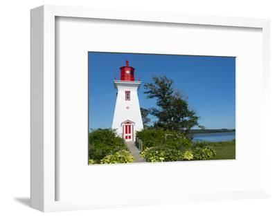 Canada, Prince Edward Island, Victoria, Beautiful Old Lighthouse Called Victoria Seaport Lighthouse