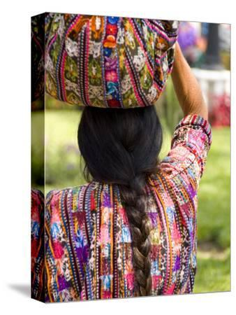 Colorful Patterned Clothes, Solola, Guatemala