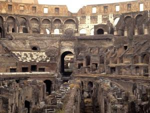 Colosseum Ruins, Rome, Italy by Bill Bachmann