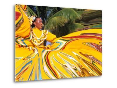 Dancers Performing in Costume, Costa Maya, Mexico