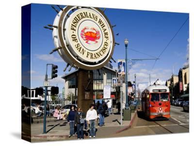 Famous Fisherman Wharf, San Francisco, California, USA