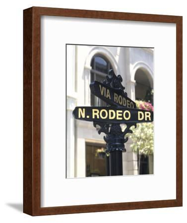 Famous Rodeo Drive, Los Angeles, California, USA
