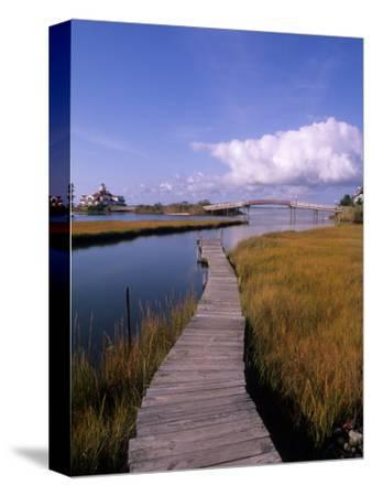 Fogers Island Walkway, Ocean City, Maryland, USA