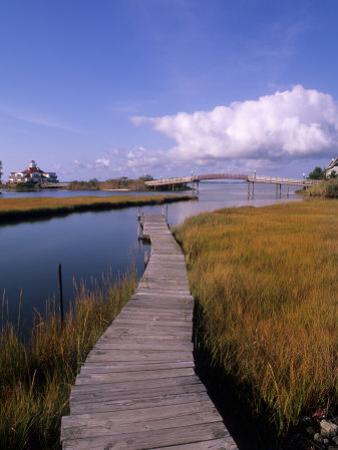Fogers Island Walkway, Ocean City, Maryland, USA