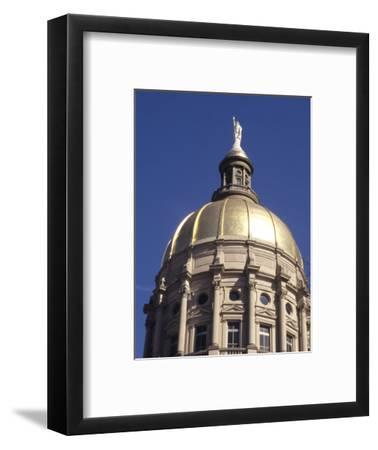 Gold Dome of the Capital Building, Savannah, Georgia