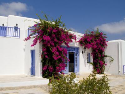 Greek Architecture, Mykonos, Greece by Bill Bachmann