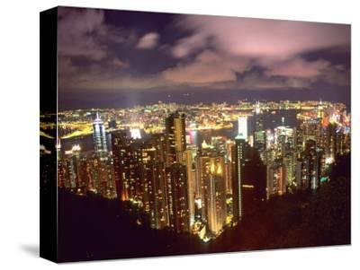 Hong Kong Skyline from Victoria Mountain, China