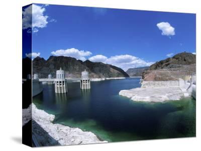 Hoover Dam, Lake Mead Reservoir, Nevada, USA