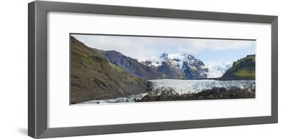Iceland. Majestic Glaciers Panoramic, Skaftafell National Park