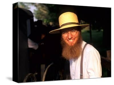 Man with Hat in Intercourse, Amish Country, Pennsylvania, USA