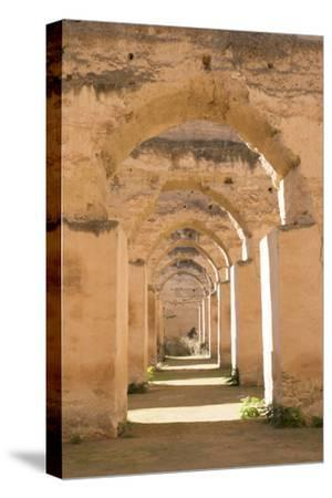 Meknes, Morocco, Hri Souani Former Horse Stalls in Downtown