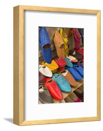 Morocco Fez Colorful Arab Shoes for Sale in Store on Rack