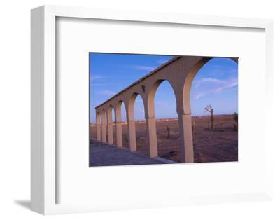 Morocco Sahara Desert Sunset Color on Arches las Palmeras Area