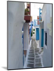 Mykonos, Greece by Bill Bachmann
