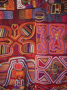 Native Indian Artwork, Mola, Panama by Bill Bachmann