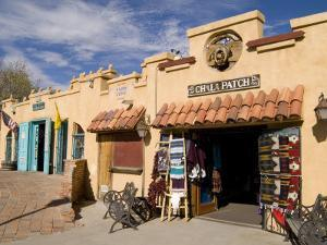 Old Town Chili Patch Store, Albuquerque, New Mexico, USA by Bill Bachmann