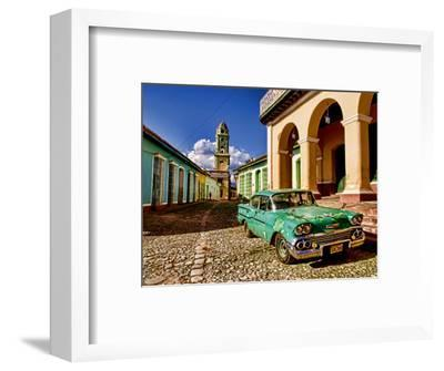 Old Worn 1958 Classic Chevy, Trinidad, Cuba