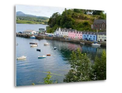 Port and Sailboats in Village of Portree, Isle of Skye, Western Highlands, Scotland
