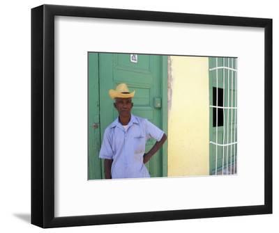 Portrait of Man, Old Colonial Village, Trinidad, Cuba