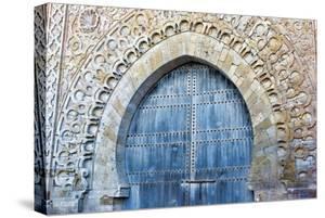 Rabat, Morocco, Kasbah Udaya Close Up of Design of Inside Door by Bill Bachmann