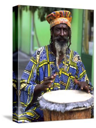 Rasta Jamaican Reggae Performer, St. John, Antigua