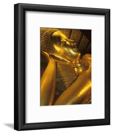 Reclining Gold Buddha at Grand Palace, Bangkok, Thailand