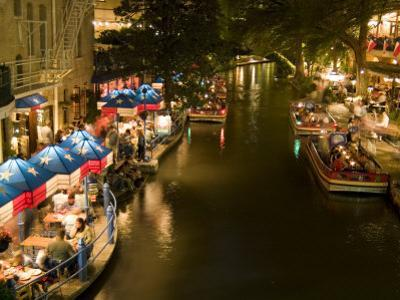 River Walk Restaurants and Cafes of Casa Rio, San Antonio, Texas