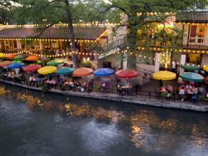 River Walk Restaurants and Cafes of Casa Rio, San Antonio, Texas by Bill Bachmann