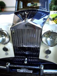 Rolls Royce at the Palace Hotel, Gstaad, Switzerland by Bill Bachmann