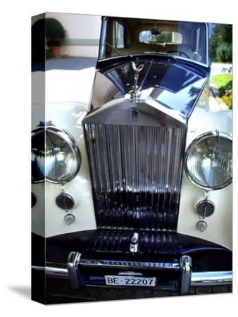 Rolls Royce at the Palace Hotel, Gstaad, Switzerland